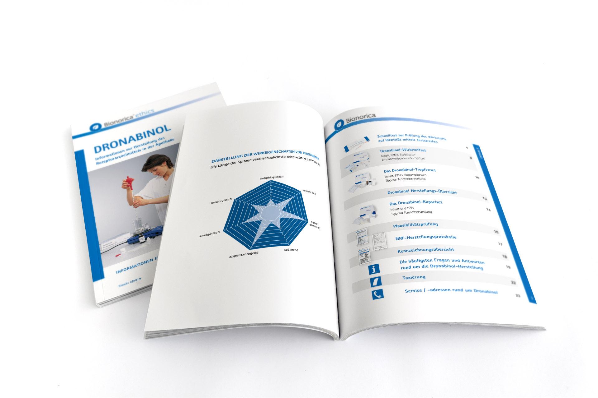 Layout Textsatz Bilder und Grafiken für Apothekenbroschüren