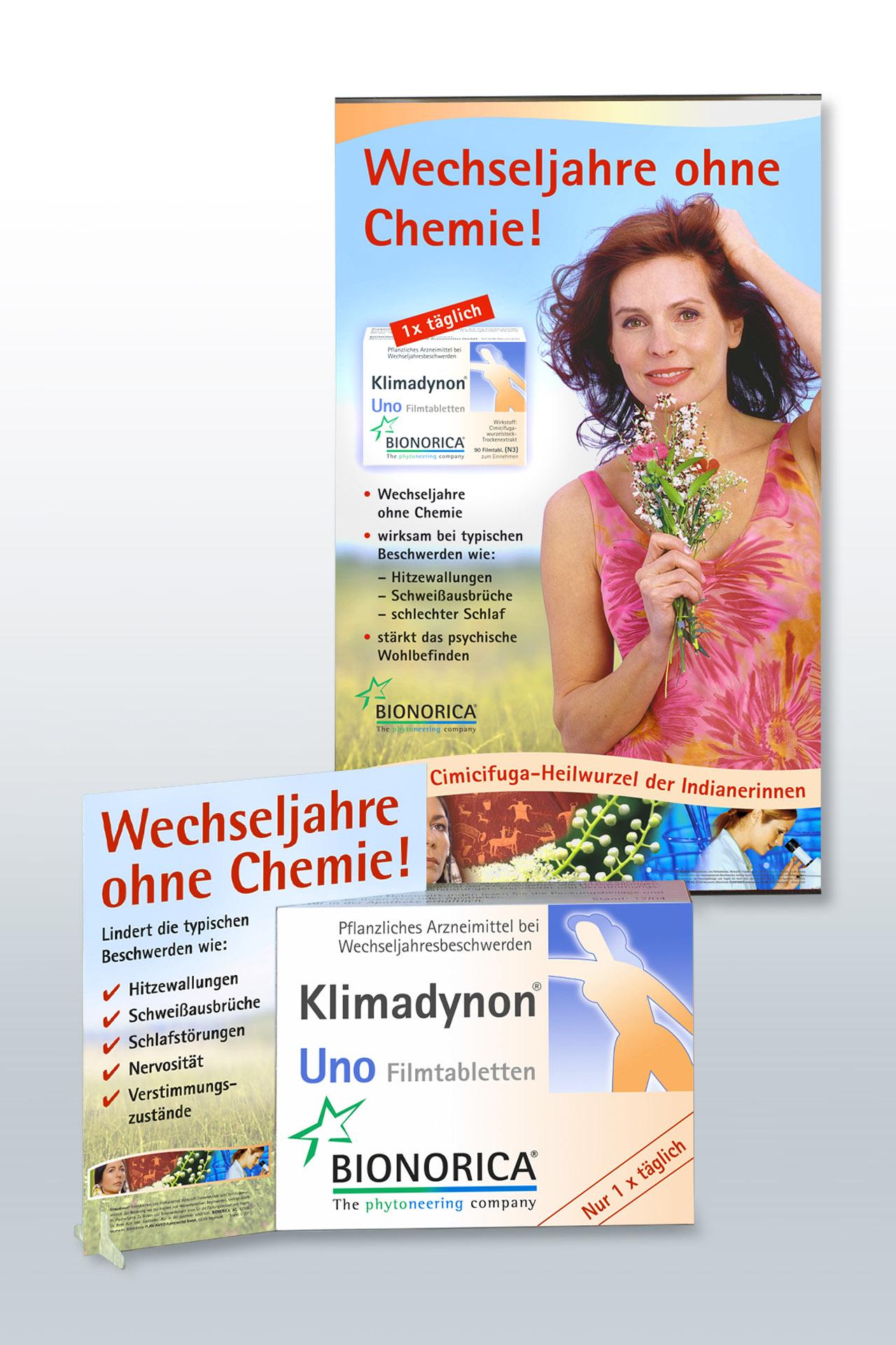 Layout und Textsatz für Apothekenaufsteller und Plakate