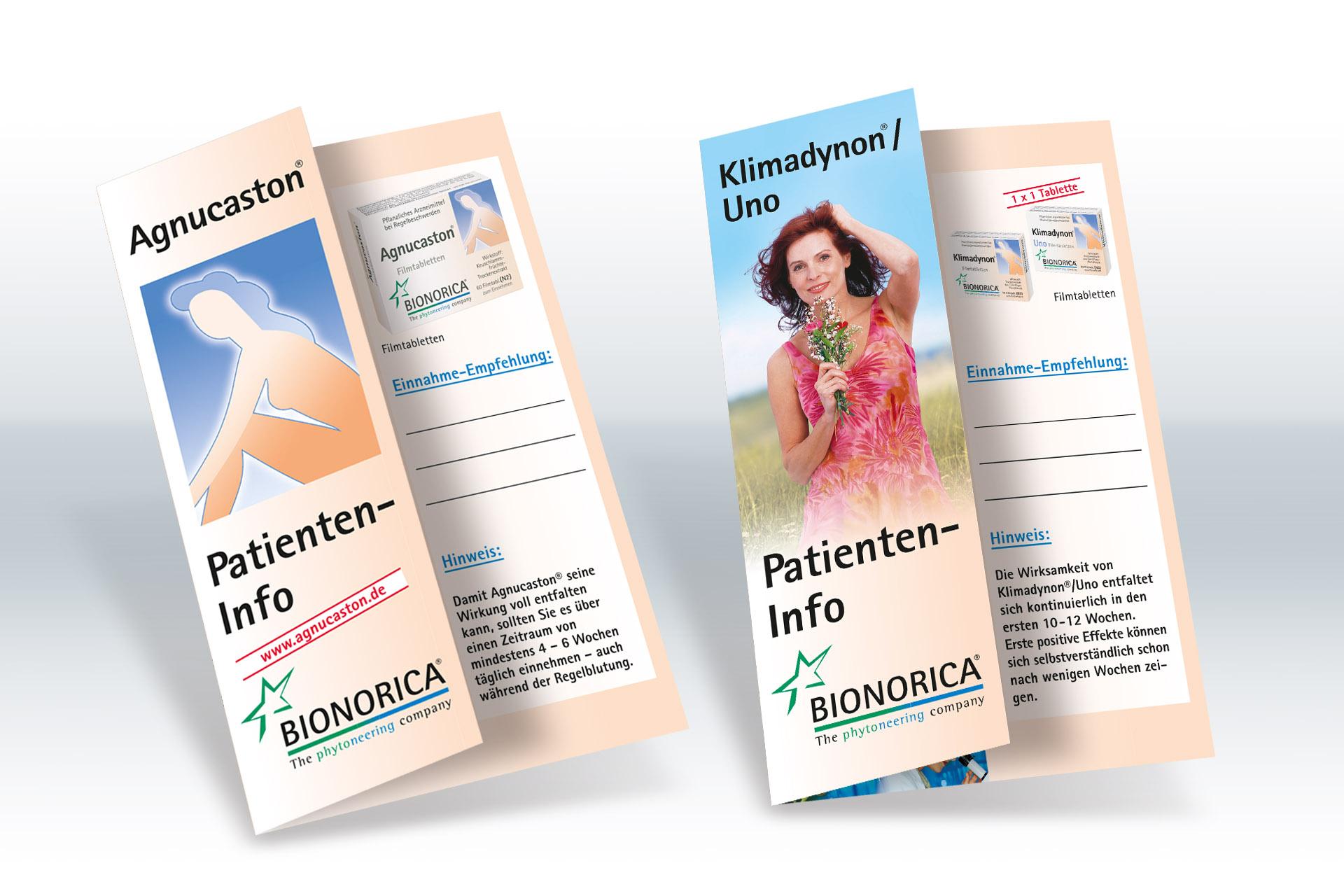 Erstellen von Patienten Infokarten