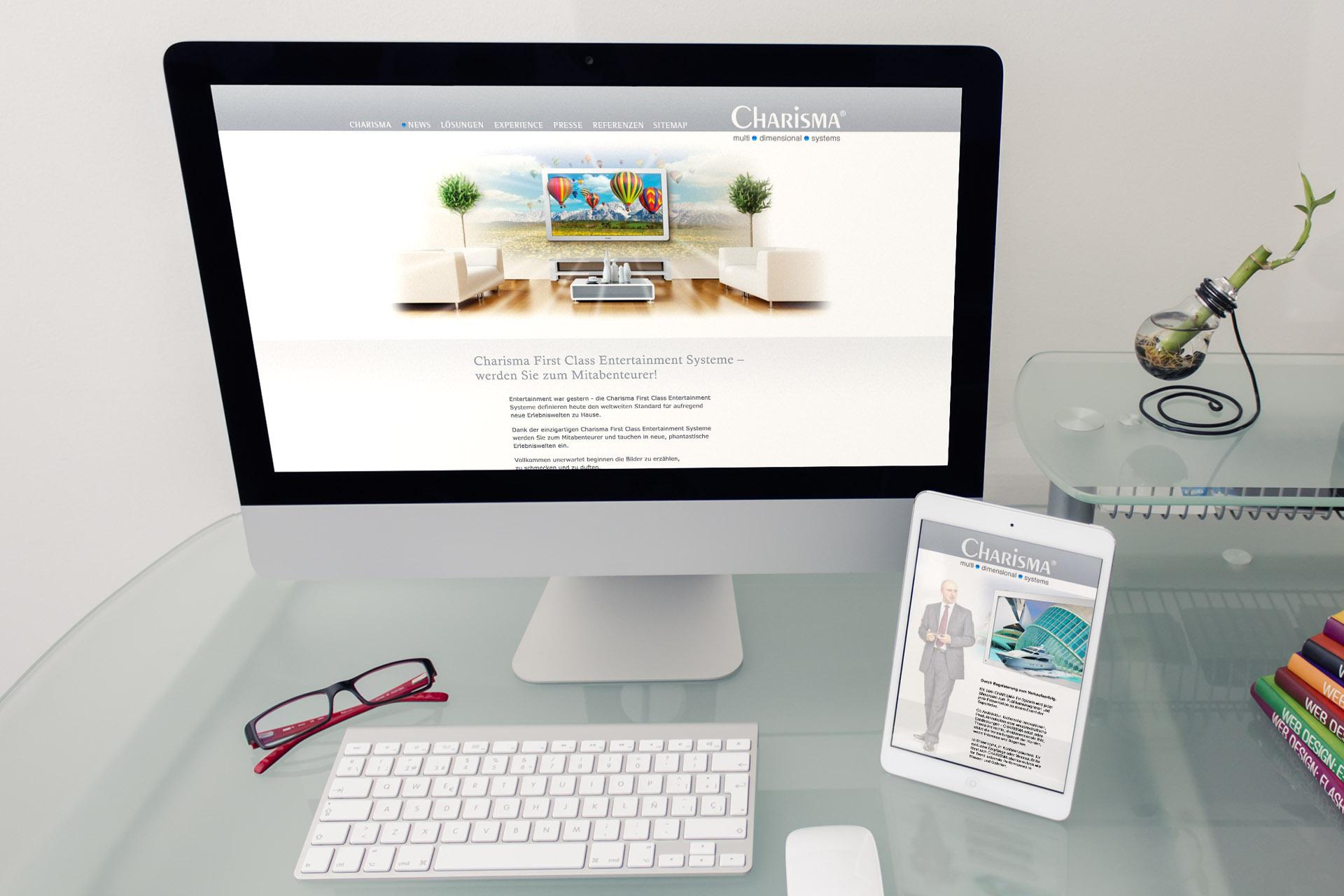 Erstellung Webseite