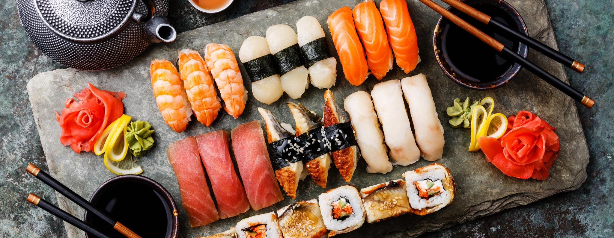 Bilder VU Header Photography 05 Restaurant - Sushi