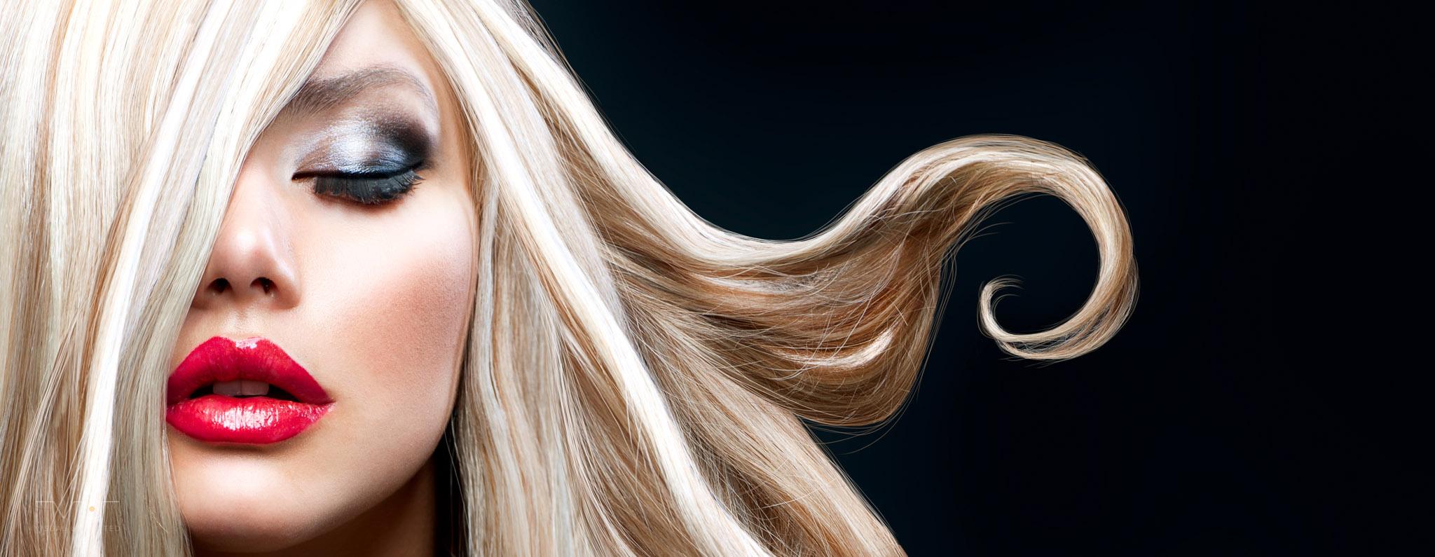Bilder VU Header Photography 08 Blonde Locken - Curly Hair