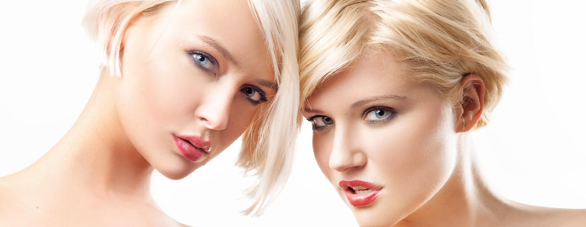 Bilder VU Header Photography 15 Tuschelnde Blondinen - Whispering Blondes