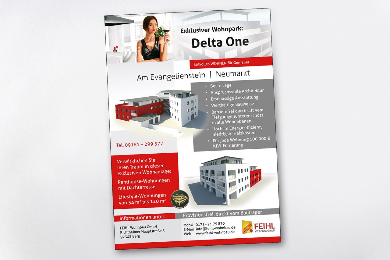 Visualisierung Delta One Anzeige