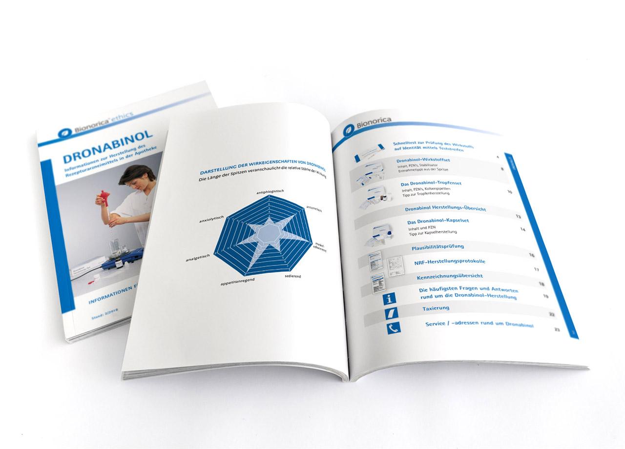 Visual Unlimited Bionorica Ethics Dronabinol Apothekenbroschüre