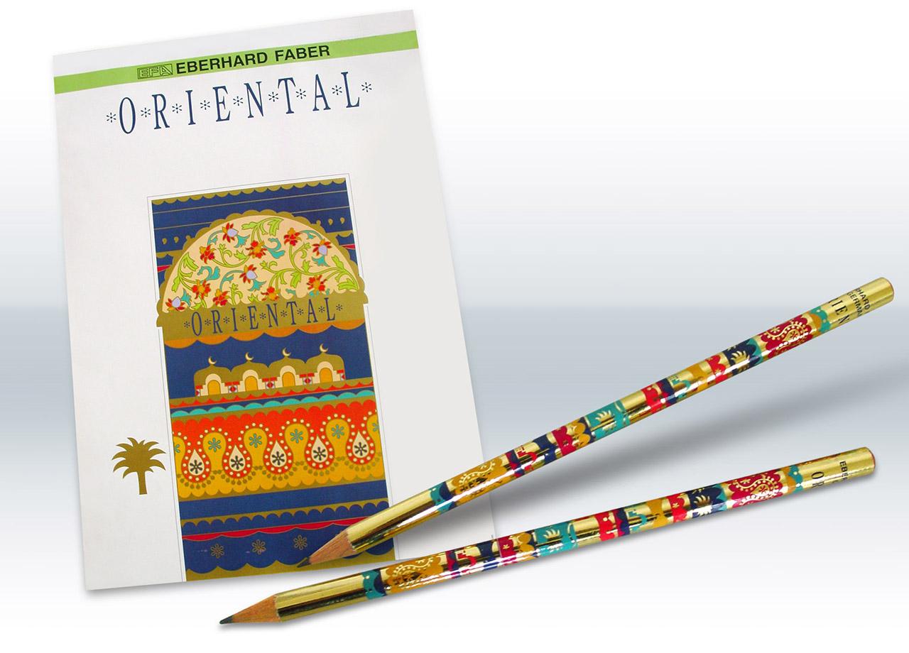 Visual Unlimited Point Werbeateliers Eberhardt Faber Serie Oriental