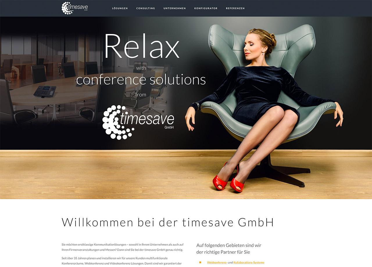 timesave GmbH Nürnberg Internetseite