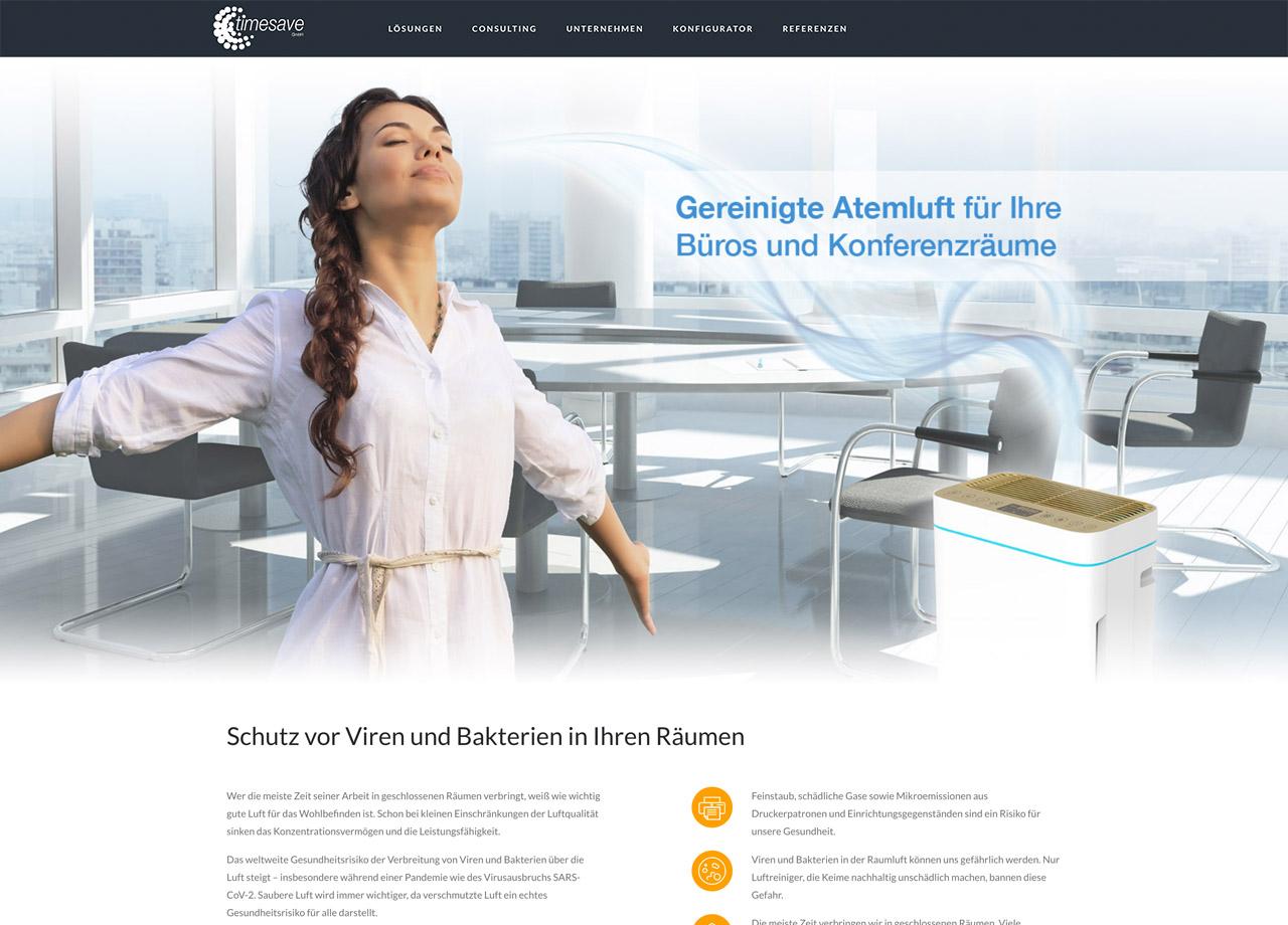 timesave GmbH Nürnberg Luftreinigung Systeme