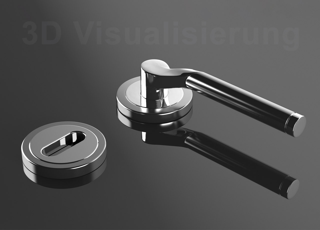 Visual Unlimited 3d Visualisierung Türgriff 04