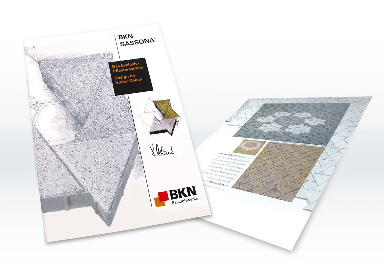 Visual Unlimited BKN Baustoffwerke Katalog Sassona